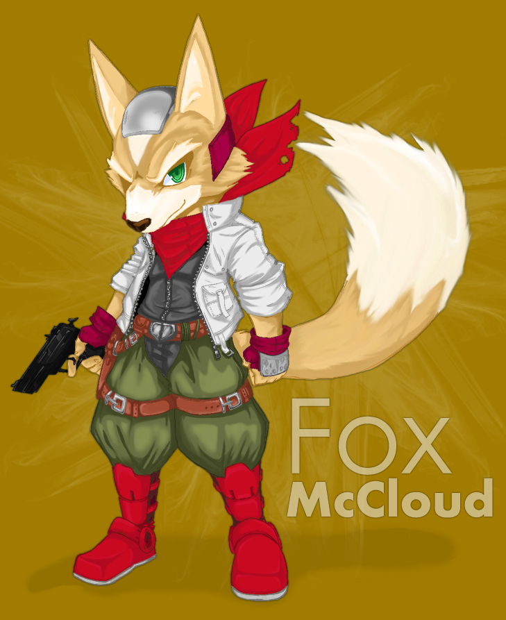 Cel Shaded: Fox McCloud